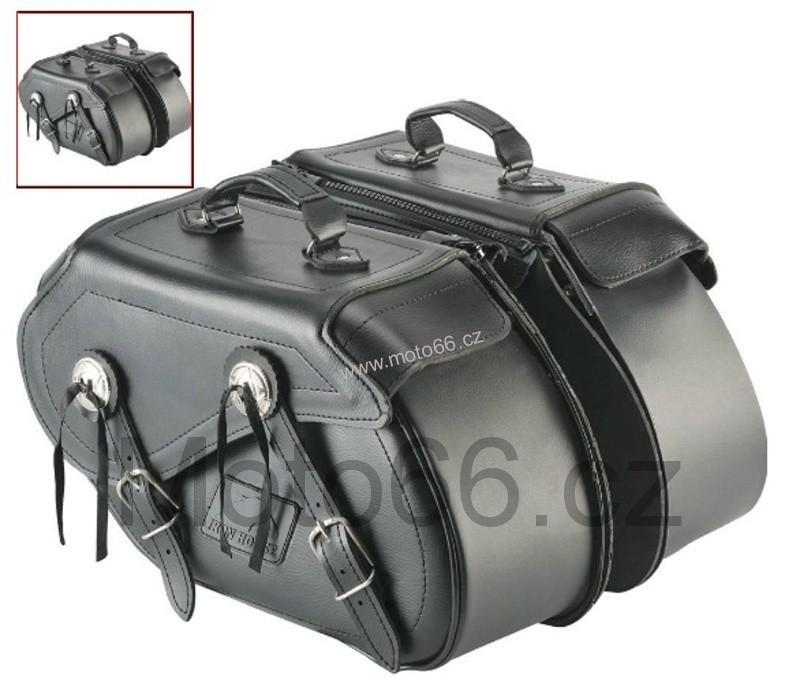 Brašny kožené chopper Iron Horse Artifical 2x11 4c4195a145