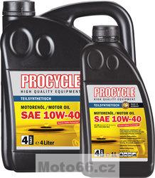 Motocyklový olej Procycle 10W40 10W-40 1 litr